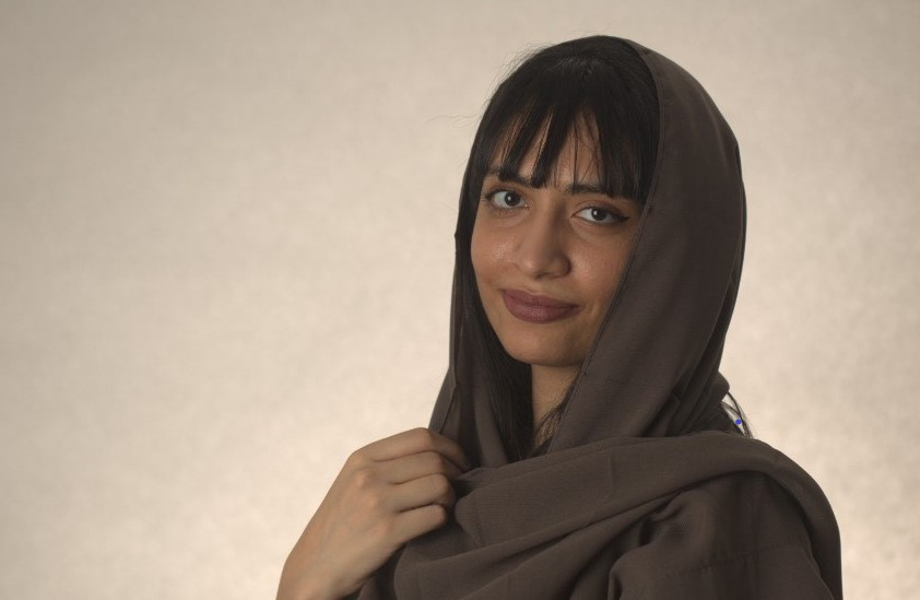Ameera Alnejaim holds a diploma in cultural and international dialogue