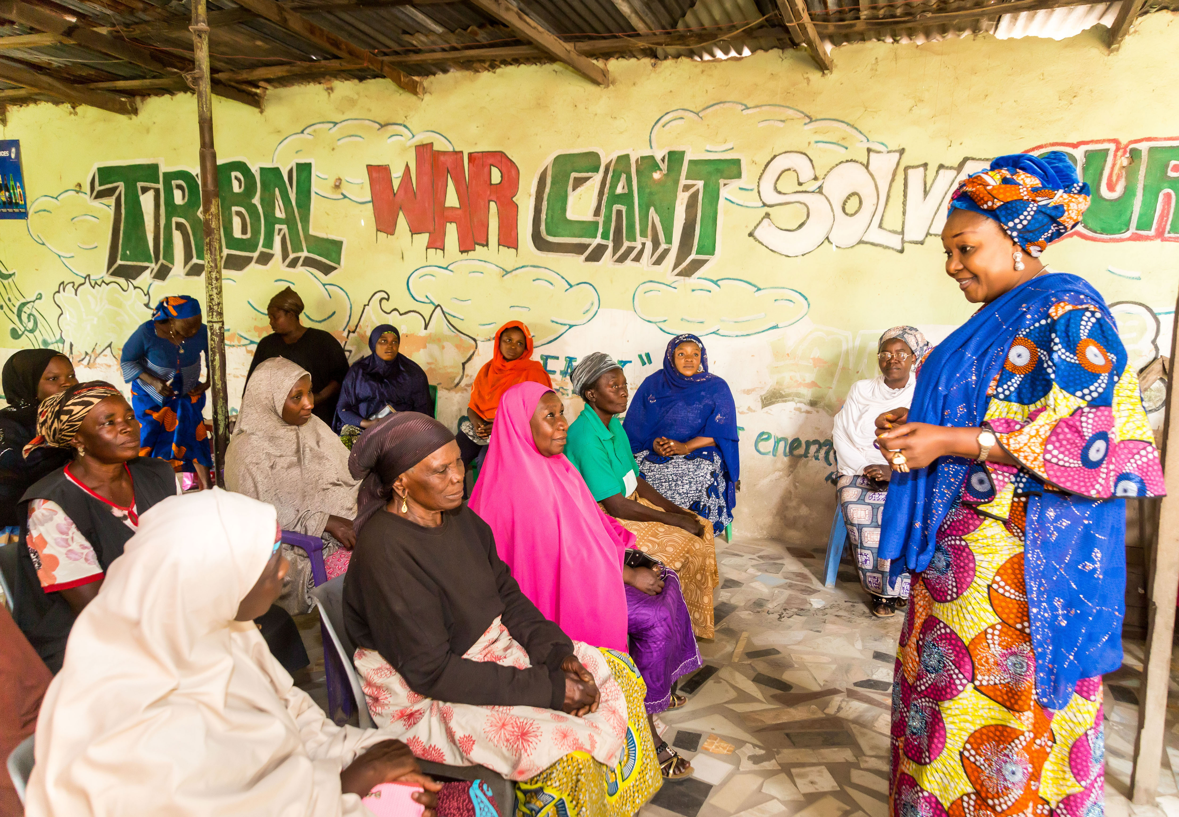 Justina Ngwobia Leads Training in Nigeria on Women in Peace and Security
