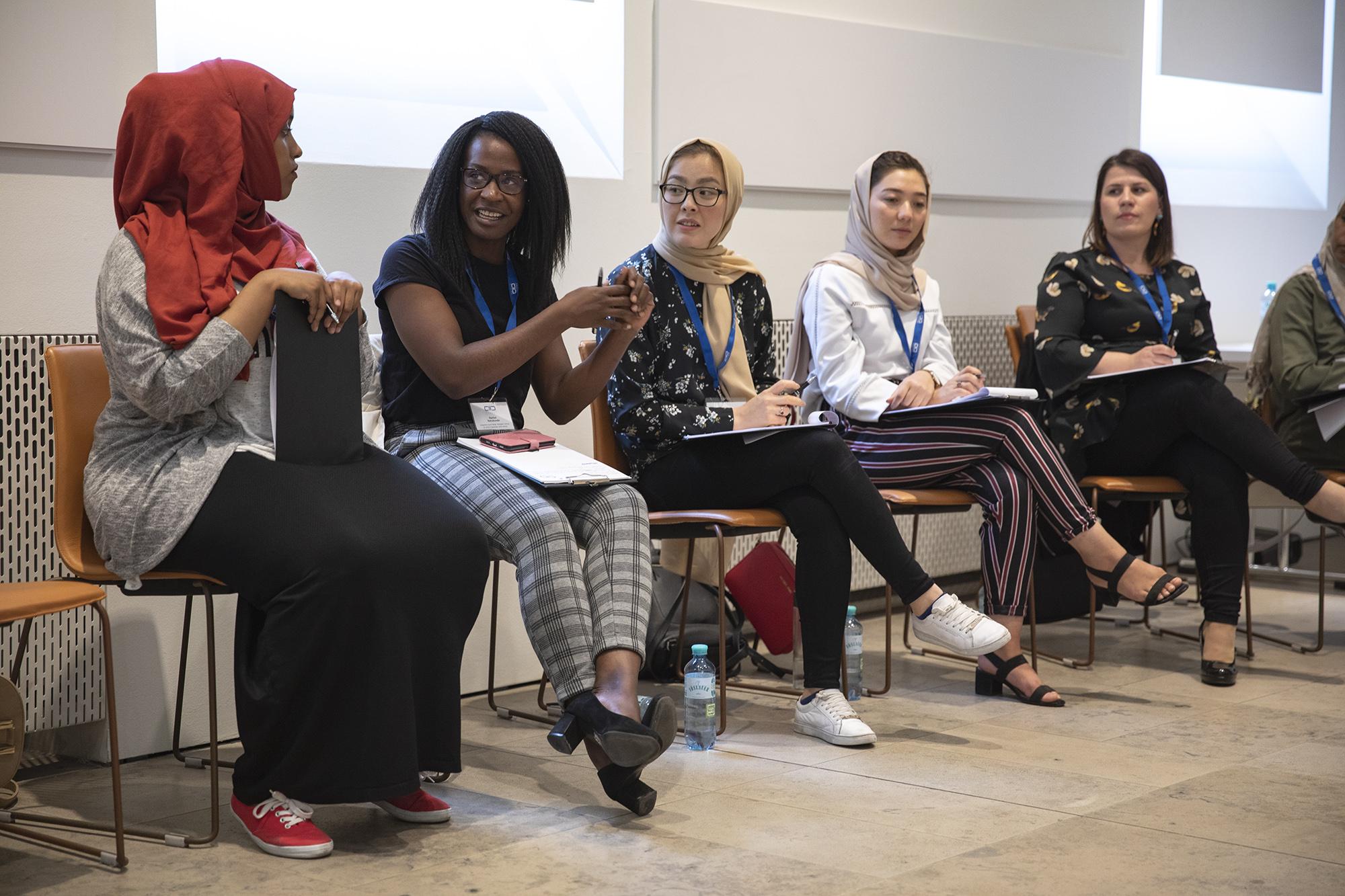 Multiplier training for People Seeking Refuge