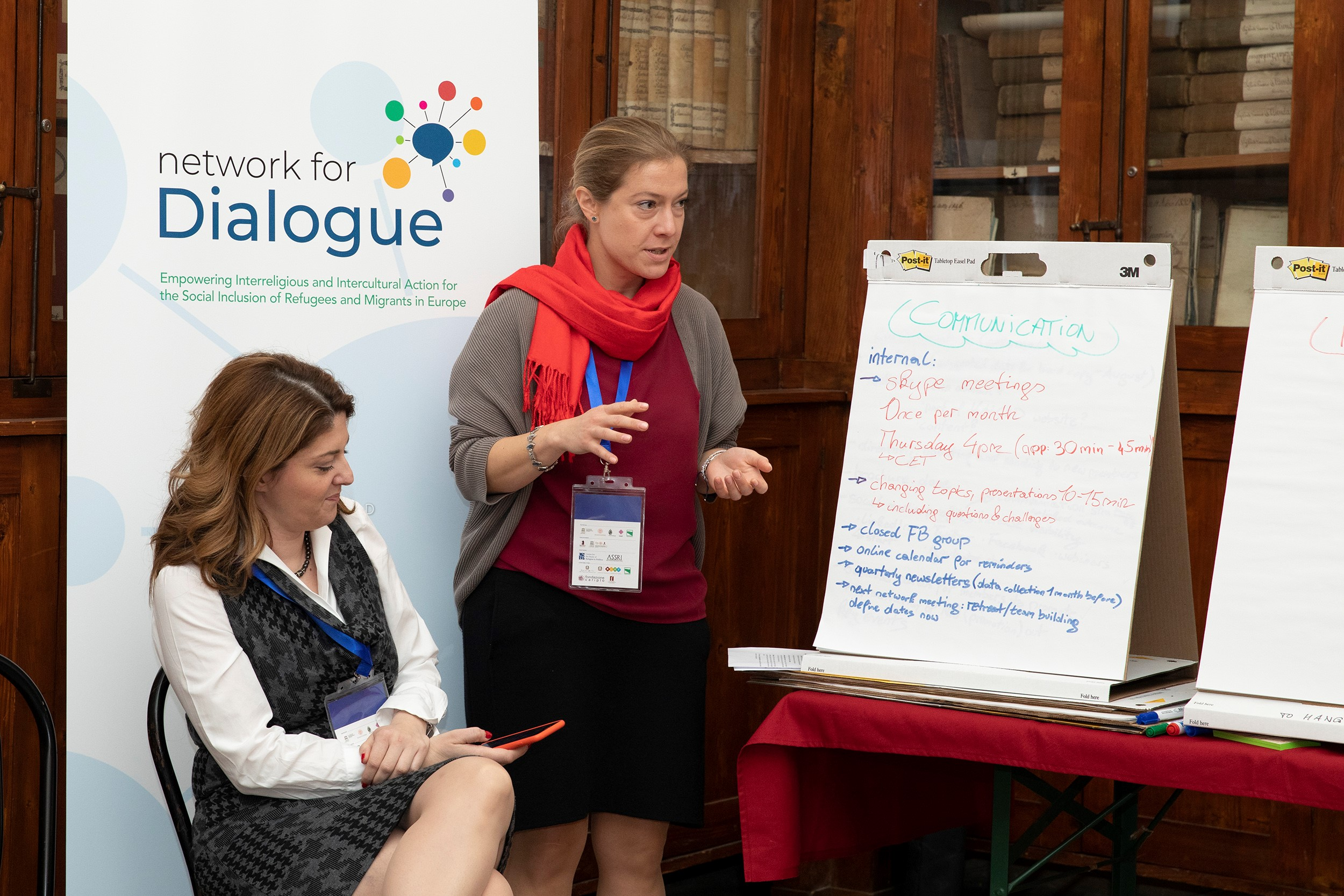 network for dialogue