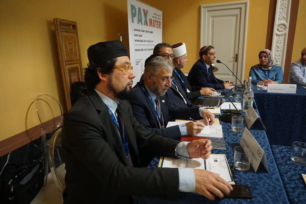 Members of the KAICIID-supported Muslim-Jewish Leadership Council (MJLC) meet in Matera, Italy