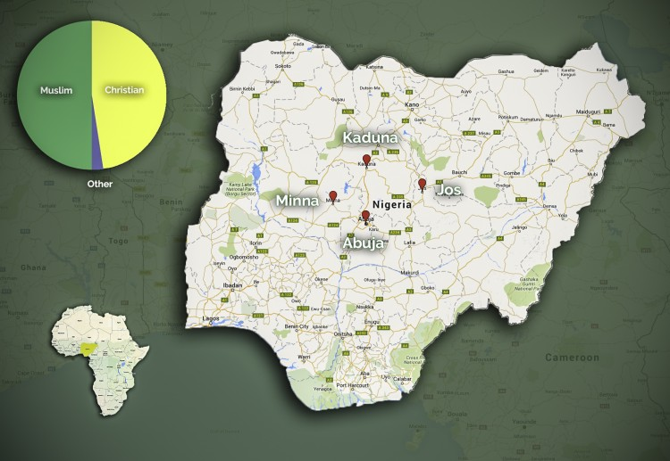 Project update nigeria fact finding mission establishes kaiciid nigeria field map publicscrutiny Gallery