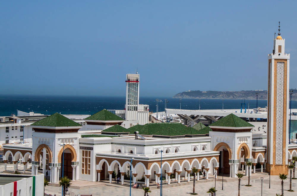 Mosque in Tanger Morocco