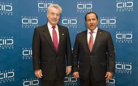KAICIID SG Greets Federal President Heinz Fischer