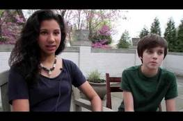 Dialogue Voices: Group of teens and preteens in Washington DC