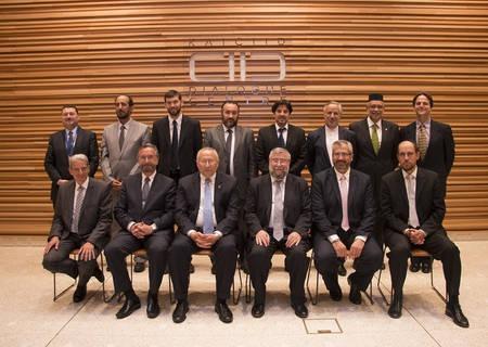 Groundbreaking Muslim-Jewish Leadership Platform Group Photo