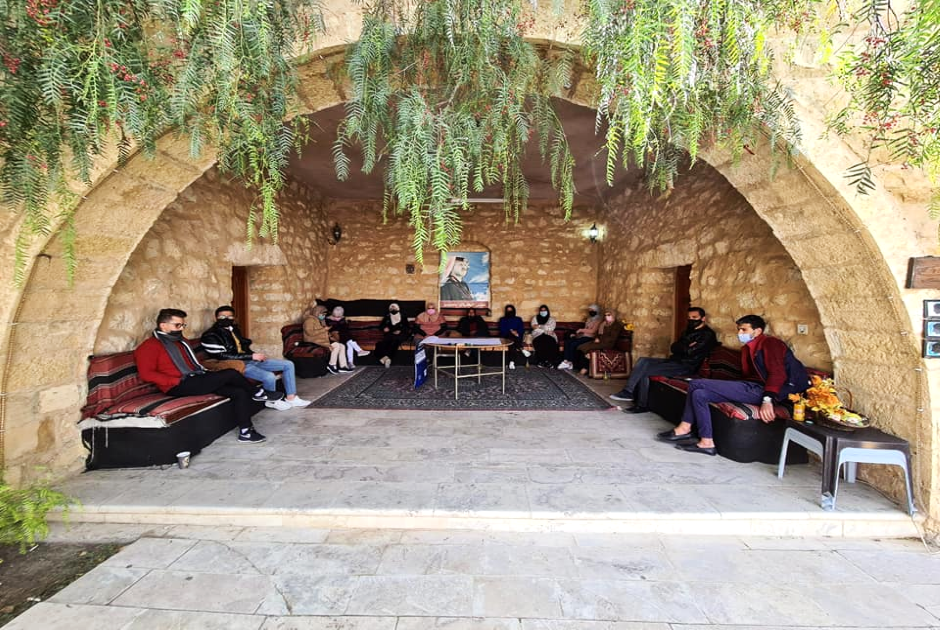 Participants waiting for the beginning of the dialogue sessions - Photo by Shorouq Al-Hamaideh