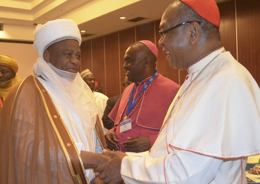 "As part of the Nigeria country programme, we organized the ""Coordinate to Achieve"" conference, a two intra-religious meeting that offered religious leaders from Christian and Muslim communities throughout Nigeria opportunity for dialogue. Photo: KAICIID"