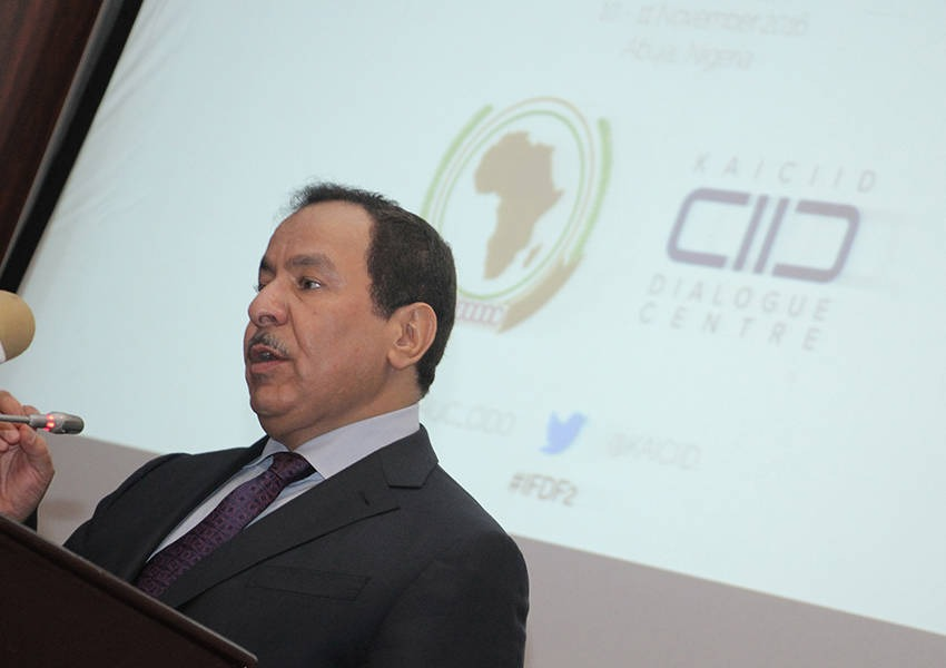 KAICIID and the African Union Commission through the Citizens and Diaspora Directorate organized the 2nd Interfaith Dialogue Forum to recognise the importance of interreligious and intra-faith dialogue as a tool for peacebuilding in Africa. Photo: AUCIDO