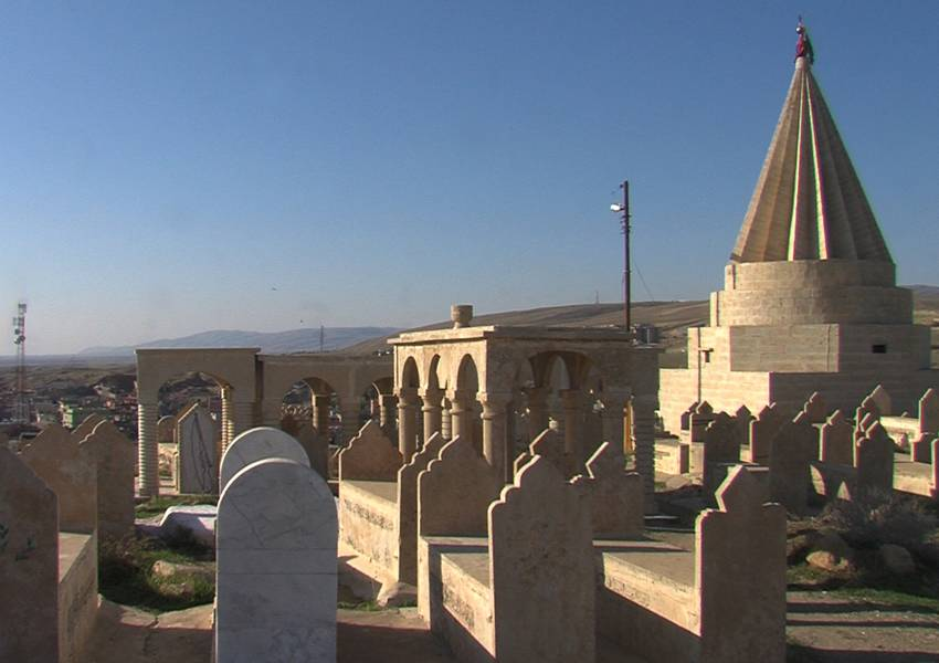 Al-Shikhan is an Assyrian city and seat of the Shekhan District in the Ninawa province in Iraq. It's mainly populated by Assyrians, Yazidis and Sunni Moslems. The Yazidi's two primary leaders, emir (or prince) and Baba Sheikh, resides in the city.