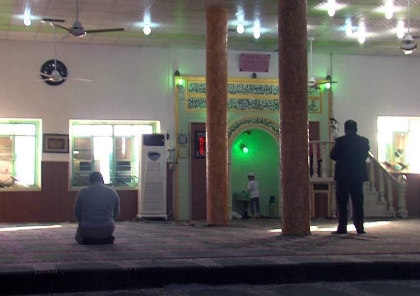 Mosque in Al-Shikhan.