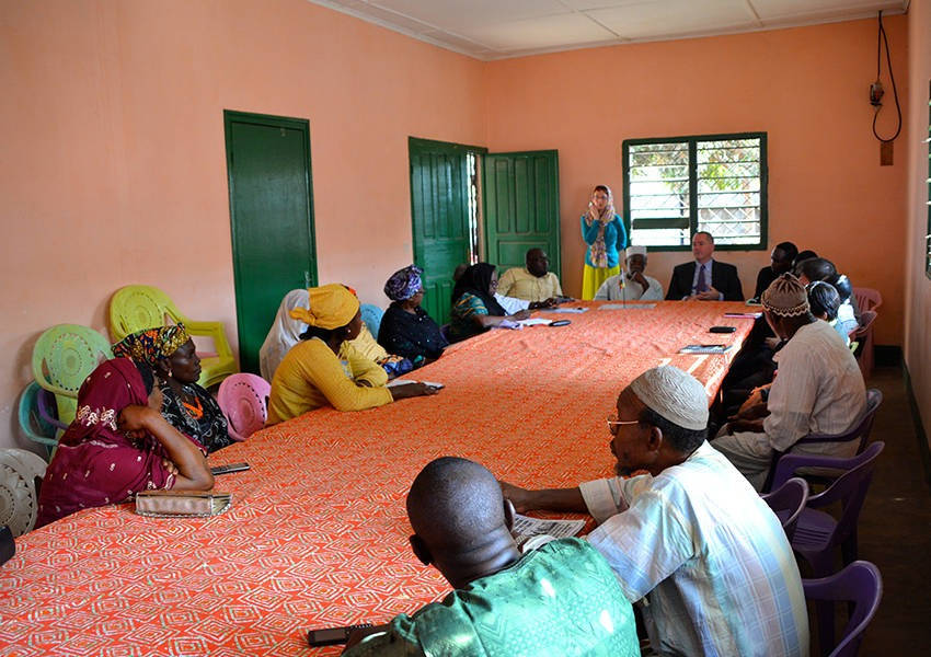 KAICIID in cooperation with FCA and the Network for Religious and Traditional Peacemakers in Central Africa took several major steps in re-establishing dialogue between the Muslim and Christian communities in CAR. Photo: KAICIID