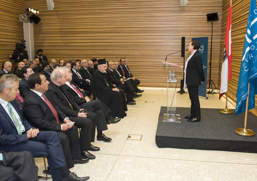 KAICIID Director of Programmes Greets Guests