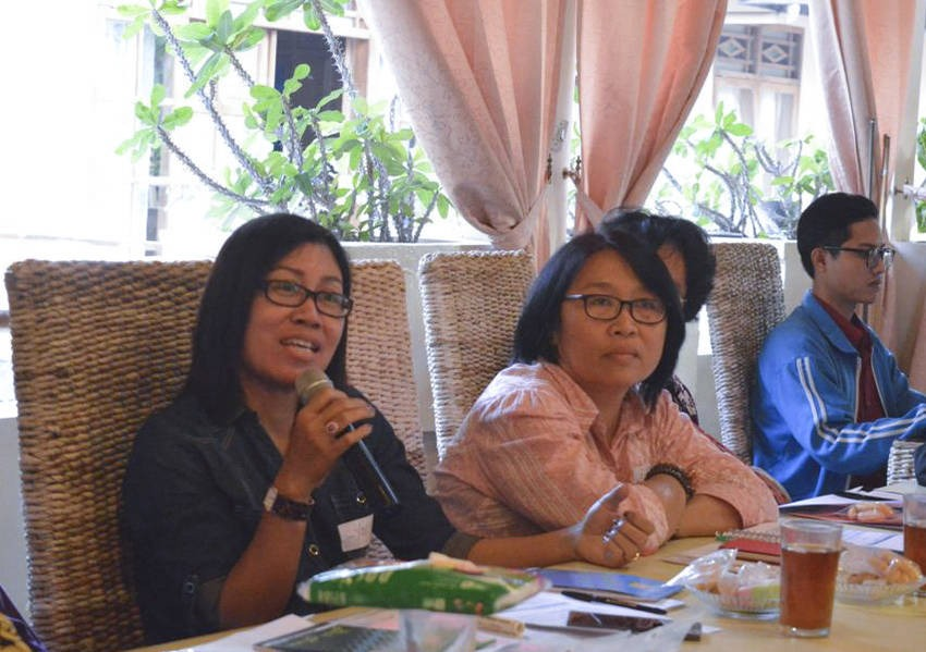 During the workshops, participants discussed the unique religious dynamic in Yogyakarta, a microcosm of Indonesia, where many ethnicities and religions live and thrive.