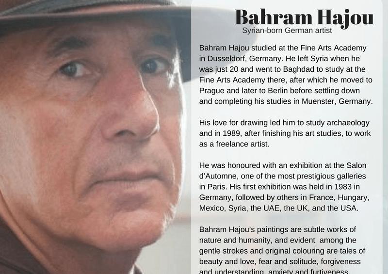 Featured Artist: Bahram Hajou