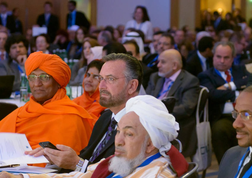 KAICIID Global Forum on Interreligious and Intercultural Education, November 2013, Vienna, Austria. Photo: KAICIID