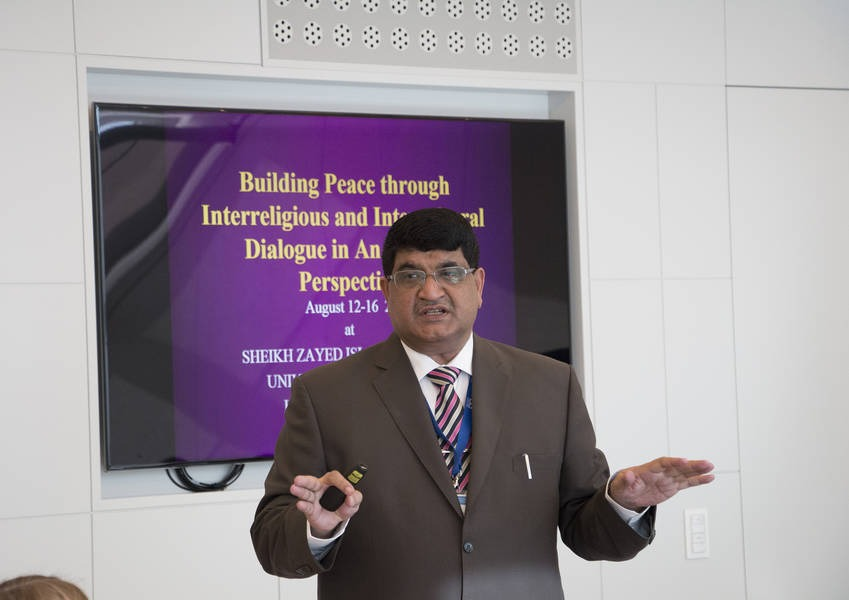Muhammad Zia-ul-Haq presents his successful implementation of his 2015 Fellows initiative.