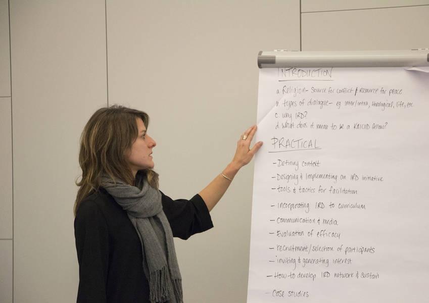 Jessica Sitek discusses IRD project implementation.