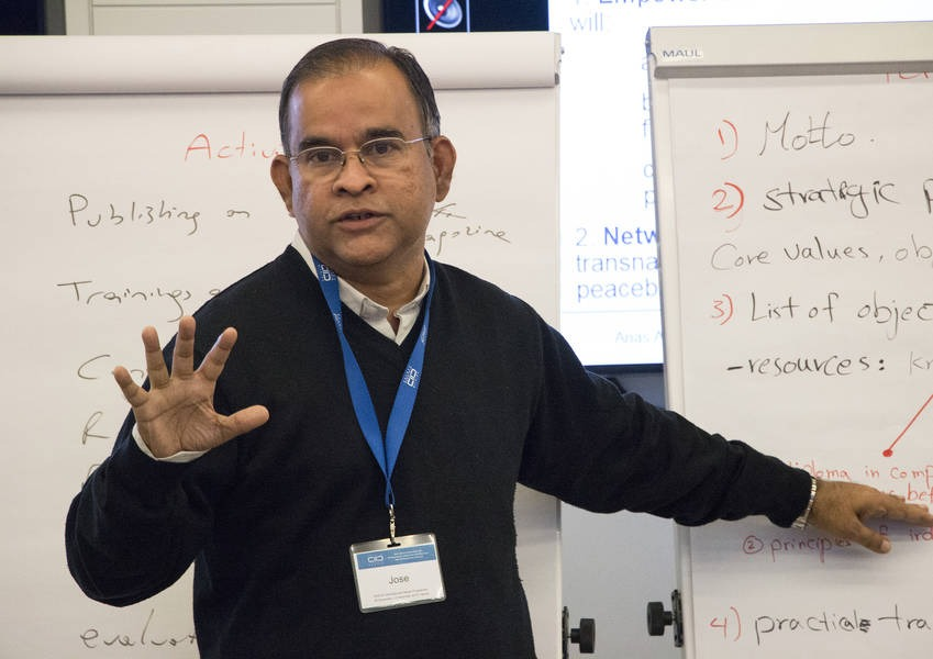 Jose Nandhikkara is a Fellow from Bangalore, India. The final training of the Fellows 2015 included extensive discussion of their experience and gave further feedback for the upcoming year.