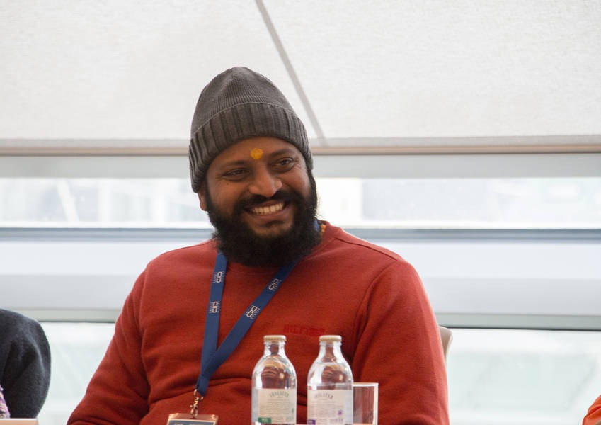 Brahmachari Jagrat Chaitanya is a member of the 2016 Fellows Programme who is currently working in Sri Lanka where he is a member of the religious council, bringing together Christians, Muslims and Buddhists.