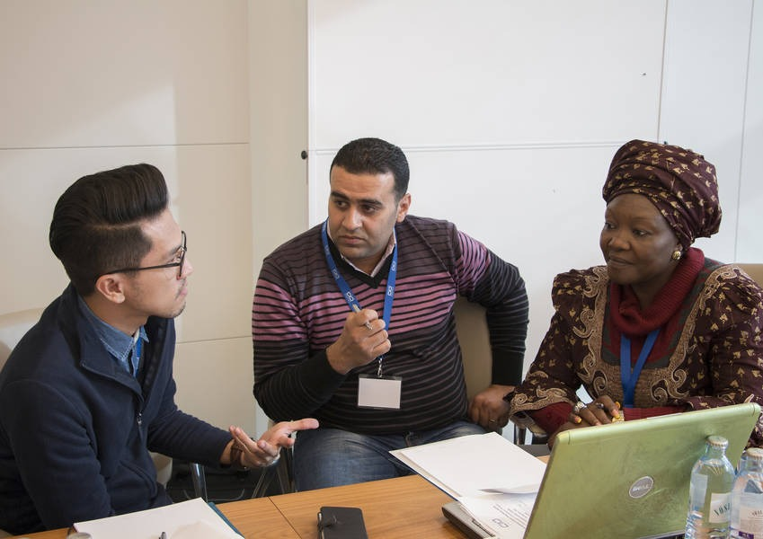 Fellows from Egypt, the Philippines and Nigeria discuss their experiences and their goals for their work in IRD.