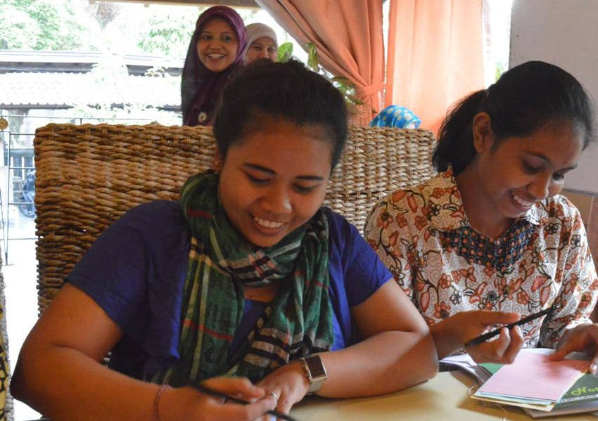 """""""Women have a great strength in spreading the values of tolerance, interfaith dialogue and peace to their families and communities,"""" Rohmawati said."""