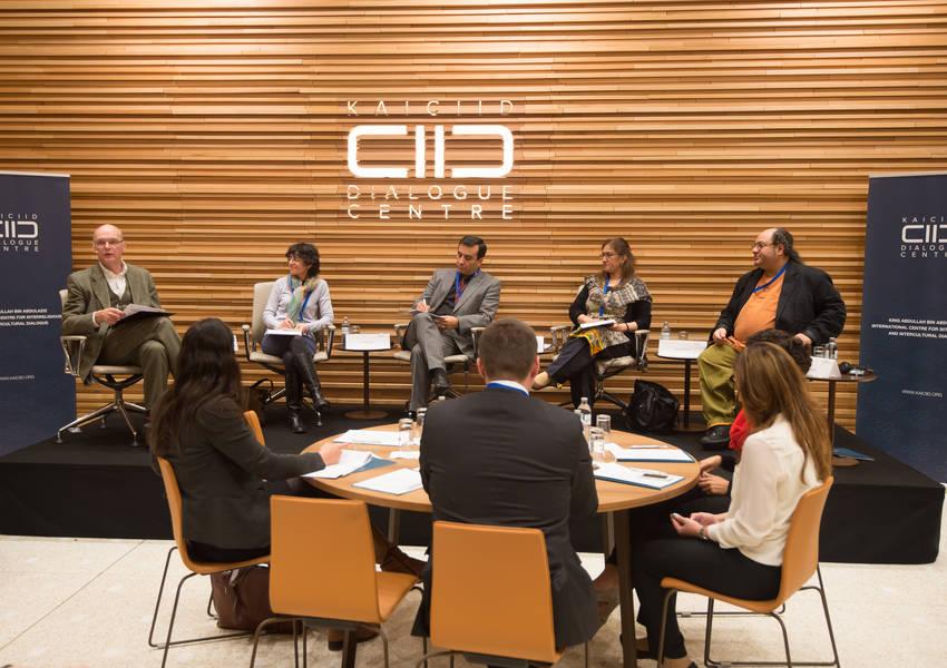 KAICIID Public Event: Media Experts' Consultation, February 2014. Photo: KAICIID.