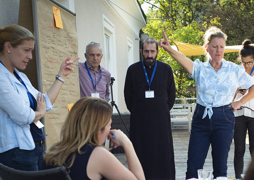 Exploring ways forward for the Network for Dialogue in Hinterbrühl, Austria, in September 2018