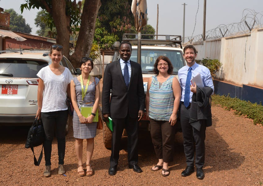 Catalyzing interreligious dialogue by supporting existing structures in the field is in line with KAICIID's strategy. During our visit to the Central African Republic, we met with Catholic Relief Services and discussed future collaboration. Photo: KAICIID