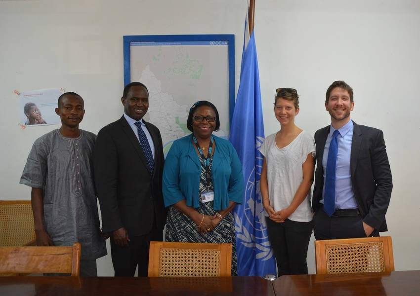 KAICIID met with UN Women in the Central African Republic to discuss female representation in the peacebuilding process. Photo: KAICIID