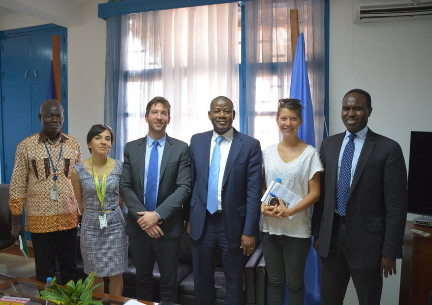 During KAICIID's visit to the Central African Republic, we stopped over to visit our MoU Partner, UNDP, to talk about possible avenues for future cooperation in the region. Photo: KAICIID