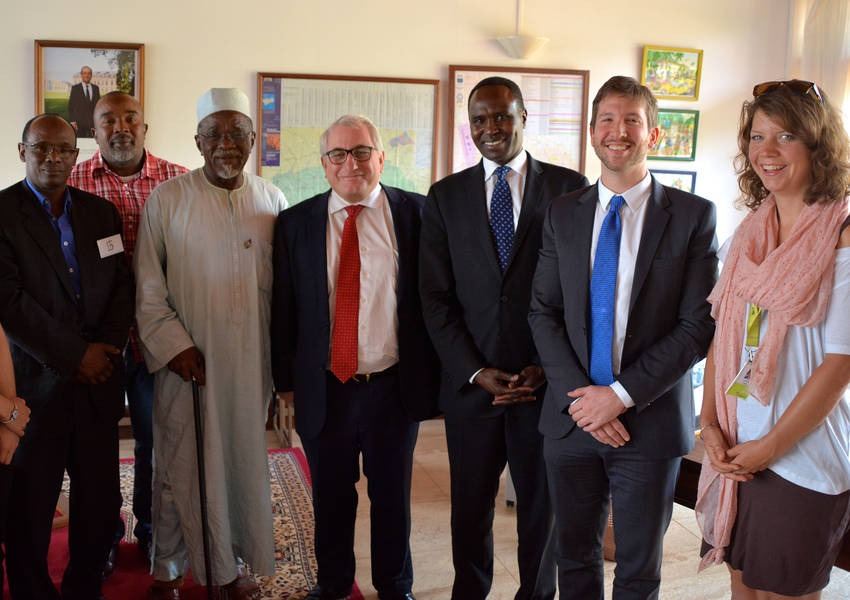 The French Ambassador to CAR expressed his support to KAICIID and partners in bringing the peacemakers to the dialogue table in the Vienna Intra-Muslim Dialogue Conference taking place at KAICIID Headquarters 25-26 February 2016. Photo: KAICIID