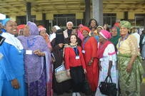 Muslim and Christian Women at Opening Ceremony of the National Inter-Faith Dialogue meeting