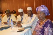 L-R Dr. Khalid Abubakar Aliyu, Sheikh AbdurRahman Ahmad, Engr. Muhammad Jameel Muhammad, Prof. Viola Onwuliri