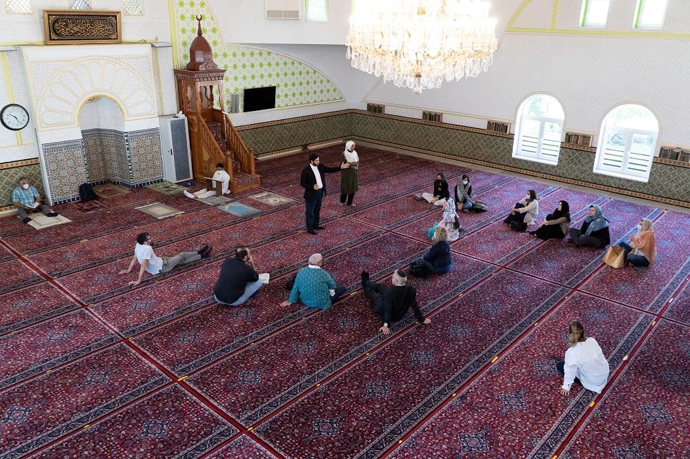 زملاء كايسيد الأوروبيين في المركز الإسلامي في فيينا.